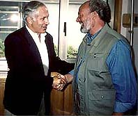 Dr. Jimmy DeYoung and PM Benjamin Netanyahu