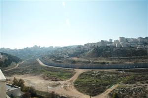 Panarama View of Shuafat from Pisgat Zeev