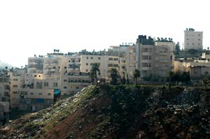 View of Shuafat Neighborhood from Pisgat Zeev